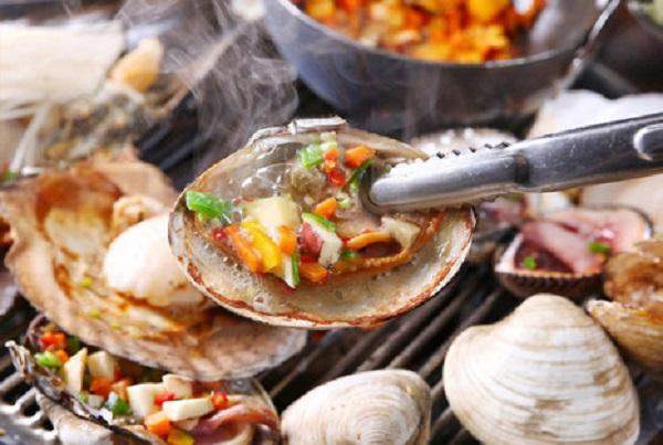 Món cá Jogae-gui Hàn Quốc